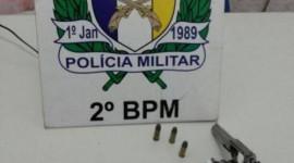 2º Batalhão prende homem e um adolescente por porte ilegal de arma de fogo em Araguaína