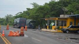 PRF registra acidentes e atua em fiscalização nas rodovias federais do Estado do Tocantins