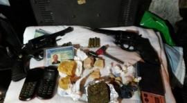 Quadrilha de traficantes é presa em Araguaína: armas e drogas foram apreendidas