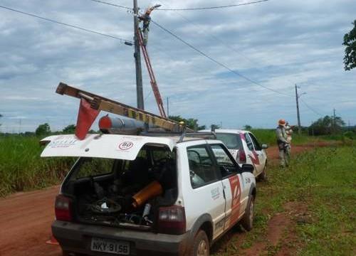 Redes elétricas de Araguaína e mais 12 cidades do norte passam por manutenção