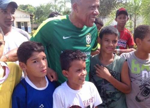 Dadá Maravilha leva mensagem de incentivo ao Esporte em municípios do Tocantins