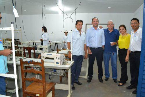 Roberto Pires inaugura Posto Avançado do SENAI em Tocantinópolis