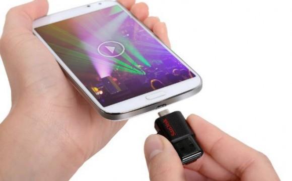 Pendrive para smartphones e tablets é lançado no Brasil