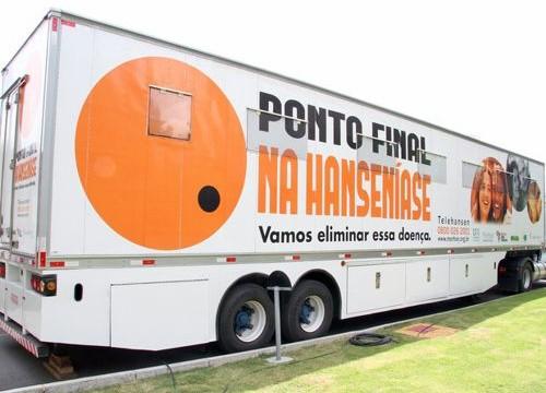 Carreta da Saúde estará em Araguaína durante Semana de Intensificação no diagnóstico da Hanseníase