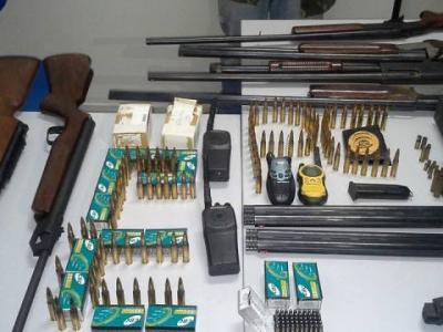 Operação Tiro ao Alvo: Polícia Civil recupera grande quantidade de armas de fogo roubadas em Araguaína