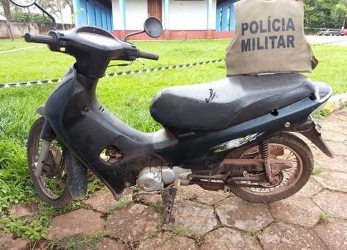 2º BPM recupera mais uma moto em Araguaína