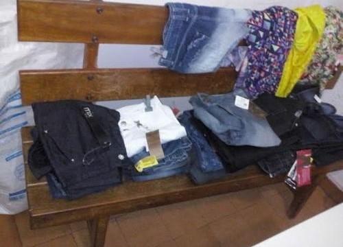 Ladrão furta shorts, calças e até vestidos de loja em Araguaína