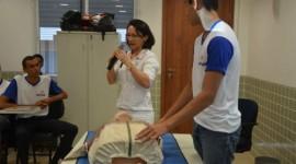 Pró-Saúde ministra palestra sobre primeiros socorros no SENAC