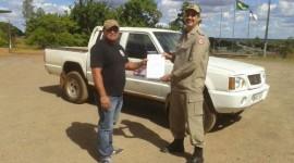 Prefeitura de Araguaína doa veículo para ação do Corpo de Bombeiros