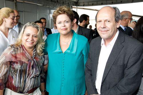 Dimas participa de posse da presidenta Dilma Rousseff