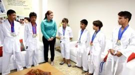 Alunos do Tocantins participam de campeonato nacional de Karatê