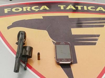 Menor é apreendido pela PM por porte ilegal de arma de fogo em Araguaína