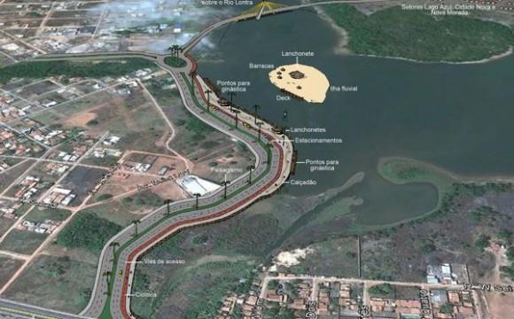 TCE investiga indício de superfaturamento no contrato das obras da Via Lago em Araguaína