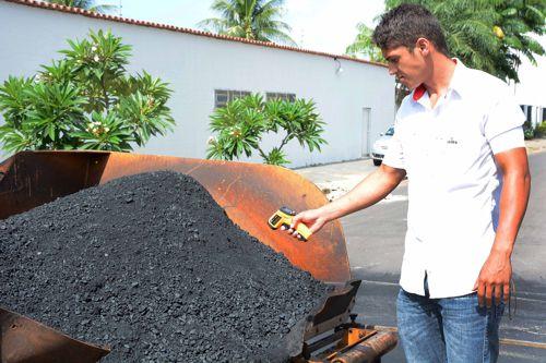 Tecnologia atesta qualidade do asfalto aplicado em Araguaína