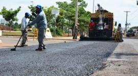 Pavimentação moderna reforça vias de grande fluxo em Araguaína