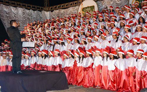 Cantata de Natal reunirá 700 vozes nesta sexta-feira em Araguaína
