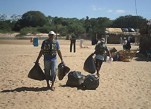 Prefeitura e parceiros promovem educação ambiental em Garimpinho