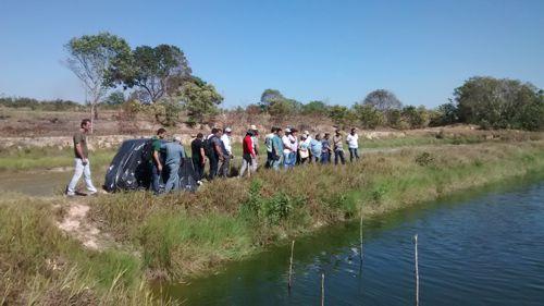 Prefeitura realiza Dia de Campo para curso de criação de peixe