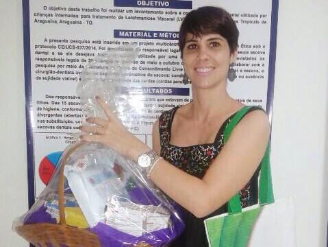Professora da FACIT recebe dois prêmios