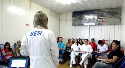 Frigorífico Boi Forte recebe curso de CIPA do SESI Araguaína