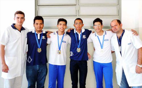 Equipe SESI fica em 1º lugar na fase estadual da Olimpíada Brasileira de Robótica