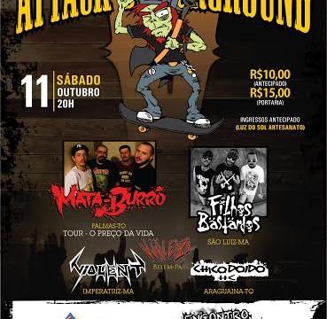 Prefeitura de Araguaína apoia o 5º Attack Underground