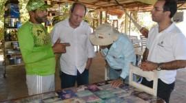 Dimas visita Garimpinho para verificar estrutura do local para temporada de praia