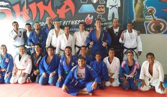Judô Guerra/Sesi reune sete associações durante seminário em Araguaína