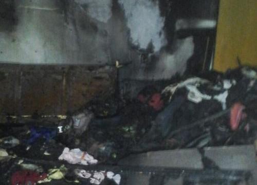 Incêndio destrói quarto e assusta moradores de casa em Araguaína