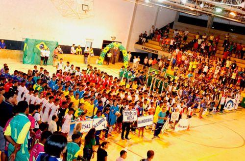 Araguaína dá início a etapa regional dos Jogos Estudantis