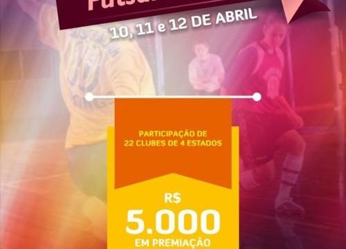 FTFS apoia Torneio Feminino de Futsal em Araguaina