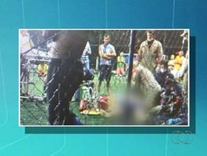 Homem morre durante partida de futebol com amigos no Tocantins