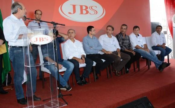 Inauguração da Companhia JBS destaca Araguaína no Canal Rural