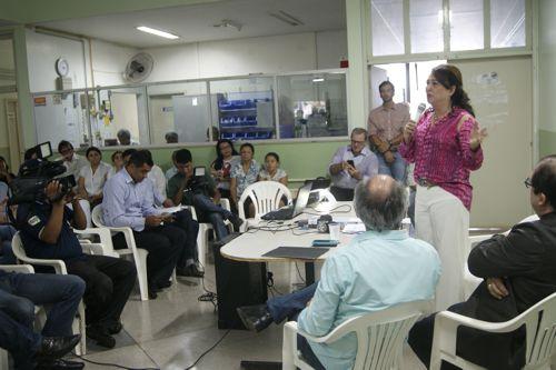 Com Reitor da UFT e Prefeito da cidade, senadora Kátia Abreu anuncia recursos autorizados pelo MEC que possibilitam a abertura de 40 vagas do curso de Medicina em Araguaína a partir de janeiro de 2015