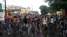 Mais de 500 ciclistas participam da 2ª Pedalada Ecológica de Araguaína