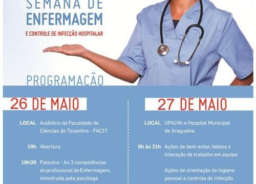 Prefeitura e Pró-Saúde realizam Semana de Enfermagem