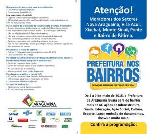 Programa Prefeitura nos Bairros - Folder 2