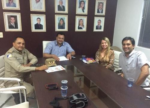 ACIARA e Corpo de Bombeiros fecham parceria em prol dos comerciantes