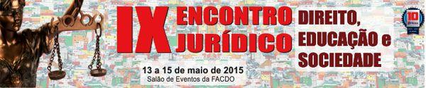 encontro juridico FACDO