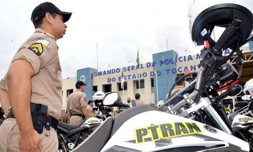 Governador entrega novas viaturas para a Polícia Militar do Tocantins