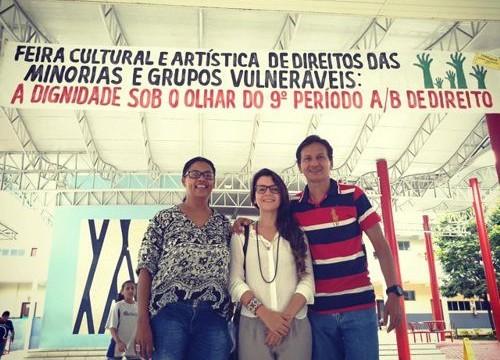Alunos promovem Feira Cultural e Artística de Direitos das Minorias e Grupos Vulneráveis