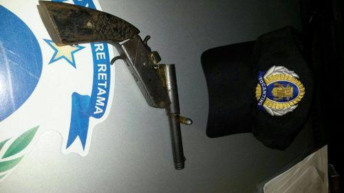 Homem é preso por porte ilegal de arma de fogo em Araguaína