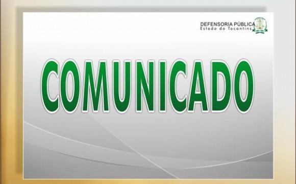 Defensoria Pública comunica alteração no expediente de sedes no interior do Estado