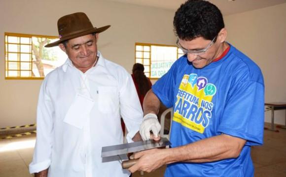 Prefeitura nos Bairros oferece diversas ações sociais para a população