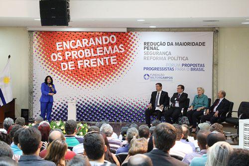 """Durante o """"Fórum – Propostas Progressistas para o Brasil"""", PP defende redução da maioridade penal"""