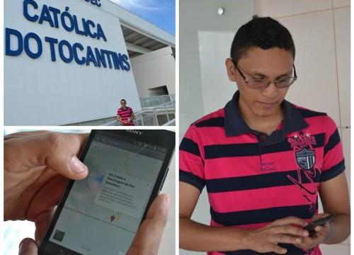 Acadêmico da Católica do Tocantins cria aplicativo com mapas de recolhimento de lixo eletrônico