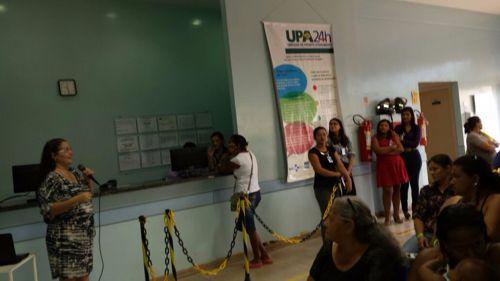 Pró-Saúde promove palestra sobre drogas em UPA de Araguaína