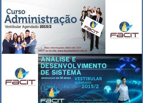 Vestibular Agendado da FACIT está com as inscrições abertas