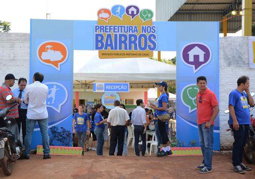 Segunda edição do Prefeitura nos Bairros vai beneficiar nove setores