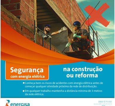 Energisa lança campanha de prevenção de acidentes elétricos